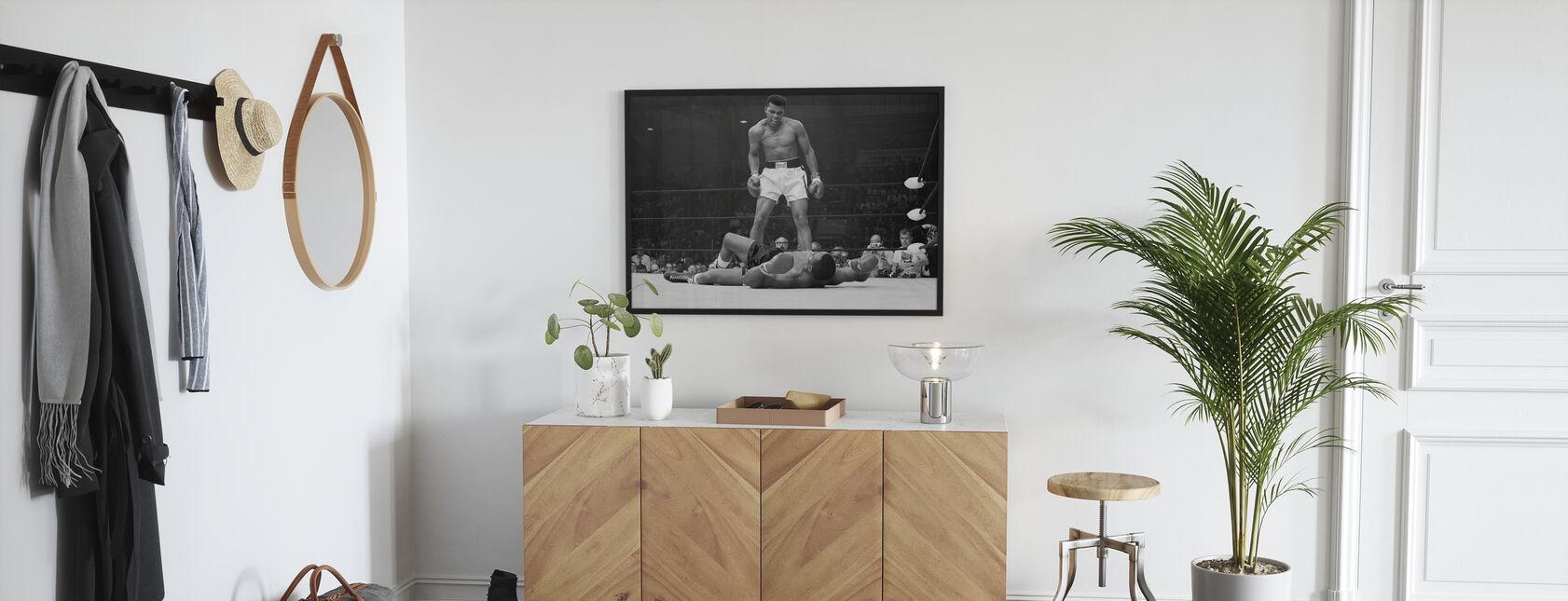 Muhammad Ali vs Sonny Liston - Poster - Hall
