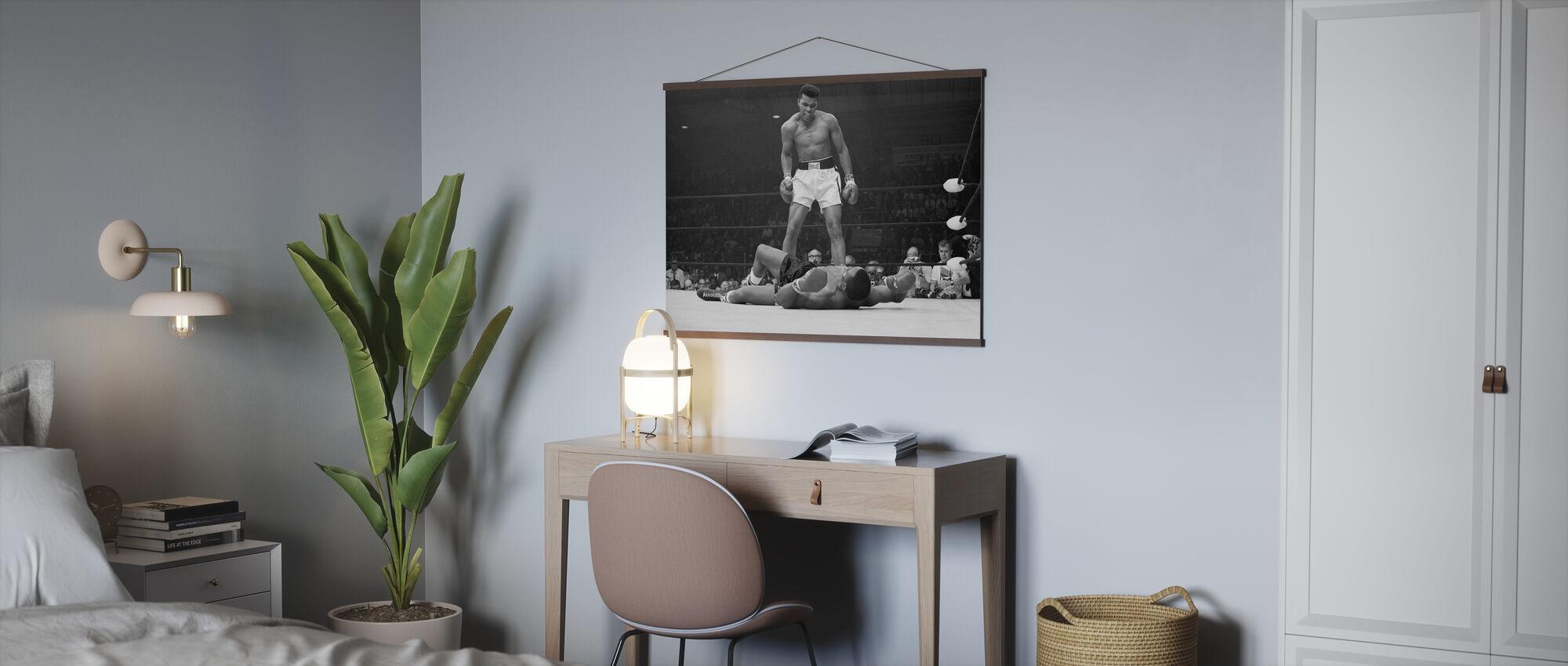 Muhammad Ali vs Sonny Liston - Poster - Büro