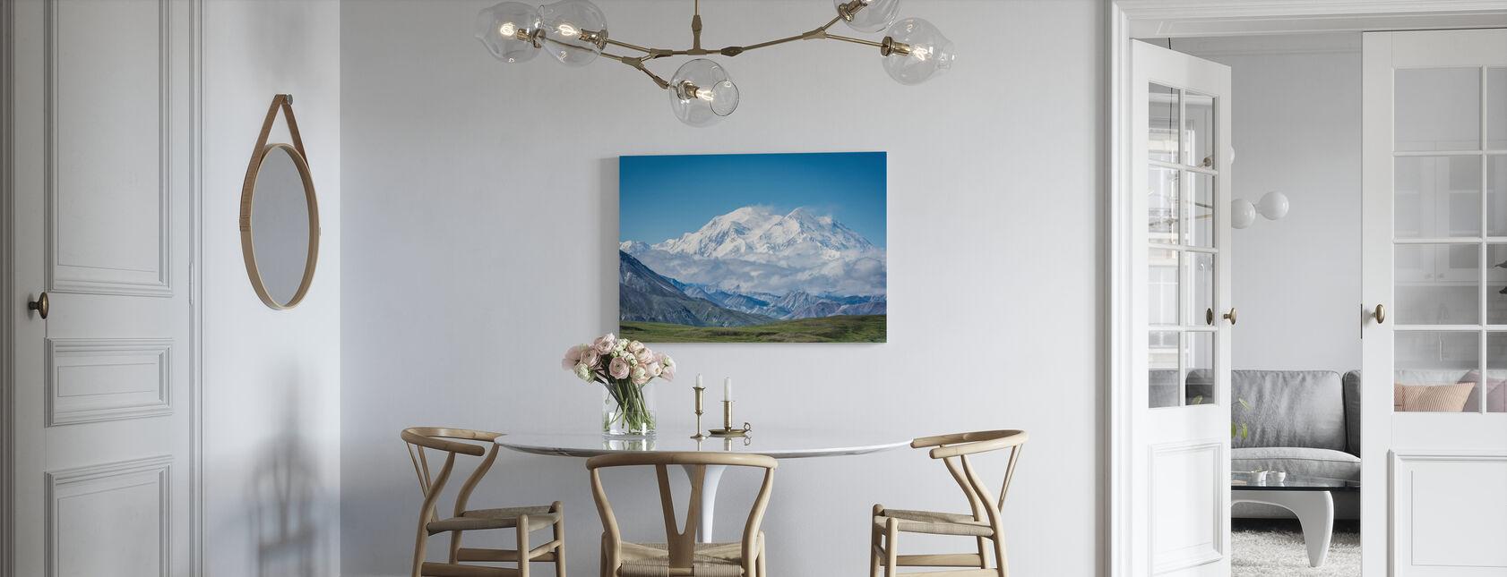 Mt Denali Alaska - Lerretsbilde - Kjøkken