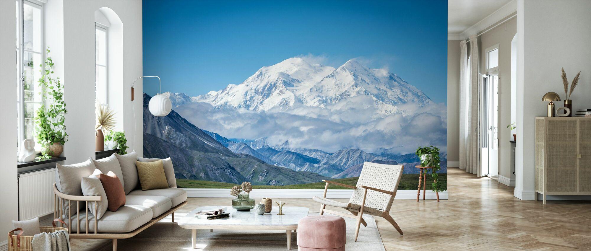 Mt Denali Alaska - Wallpaper - Living Room