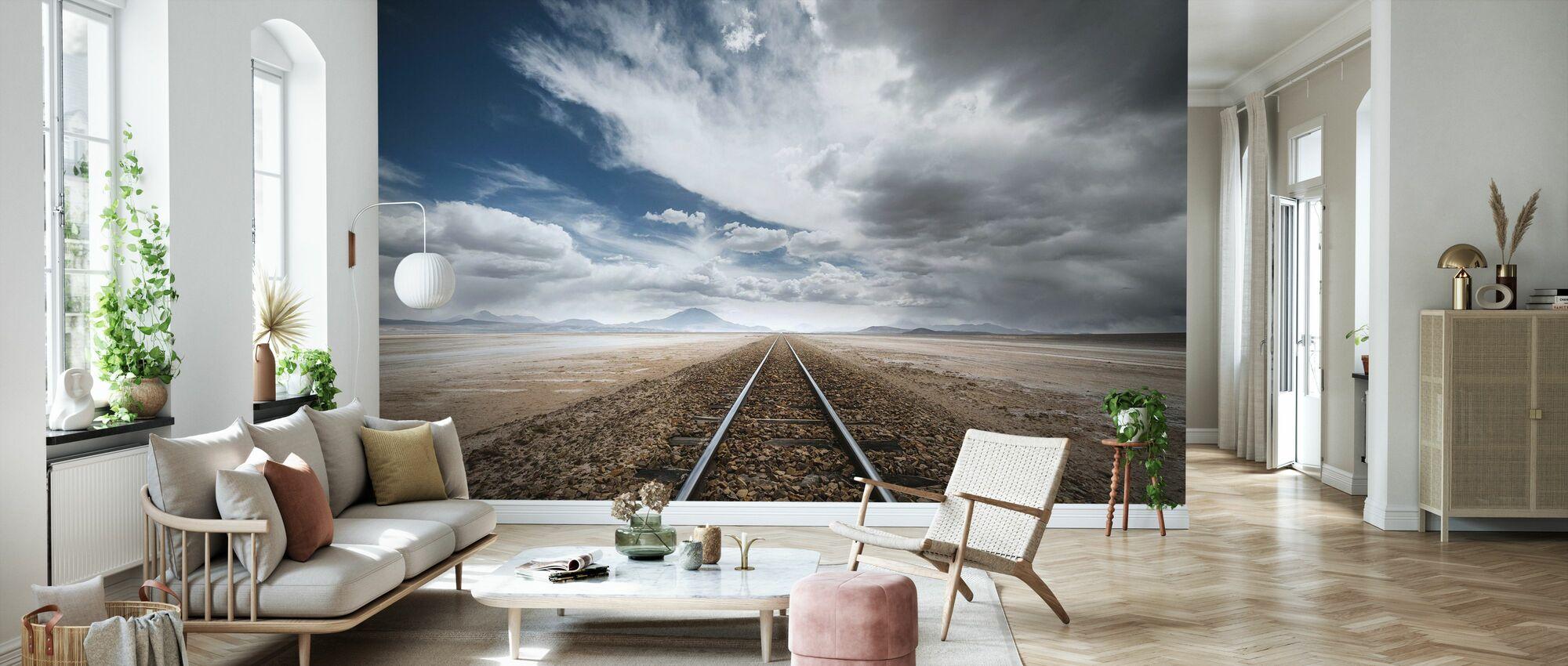 Long Road - Wallpaper - Living Room