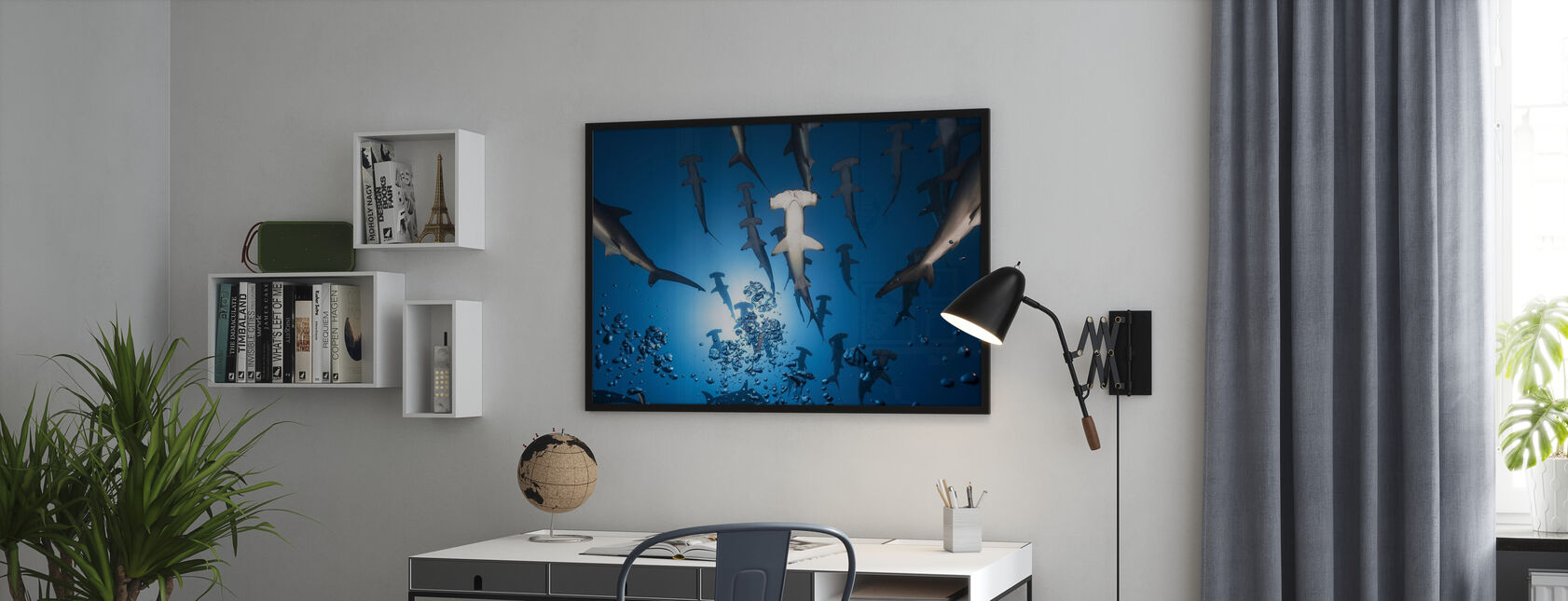 Hammerhead Shark - Poster - Office