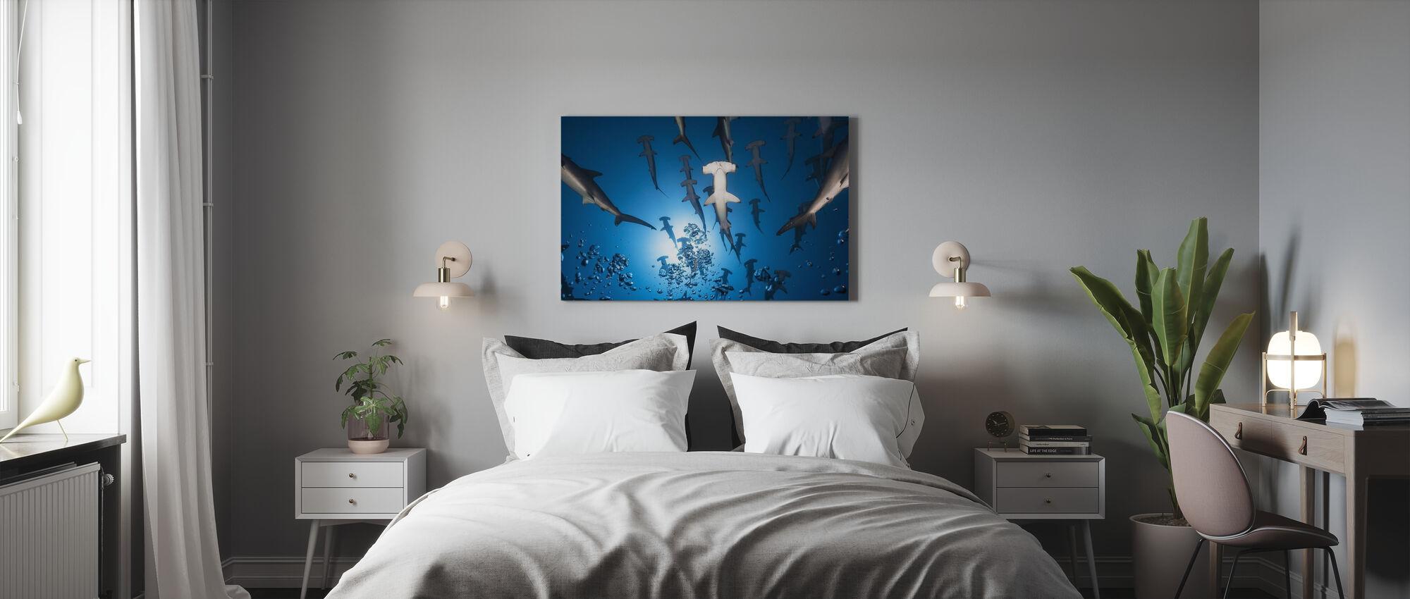 Hammerhead Shark - Canvas print - Bedroom