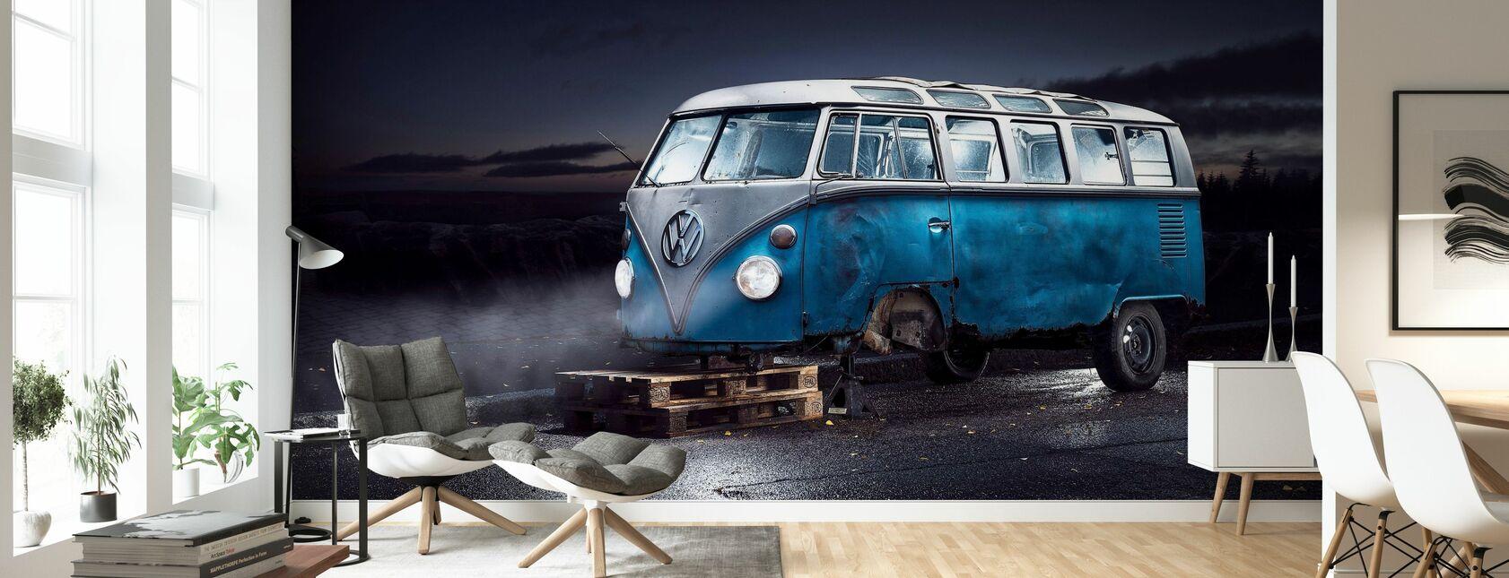 VW minibuss - Tapet - Stue