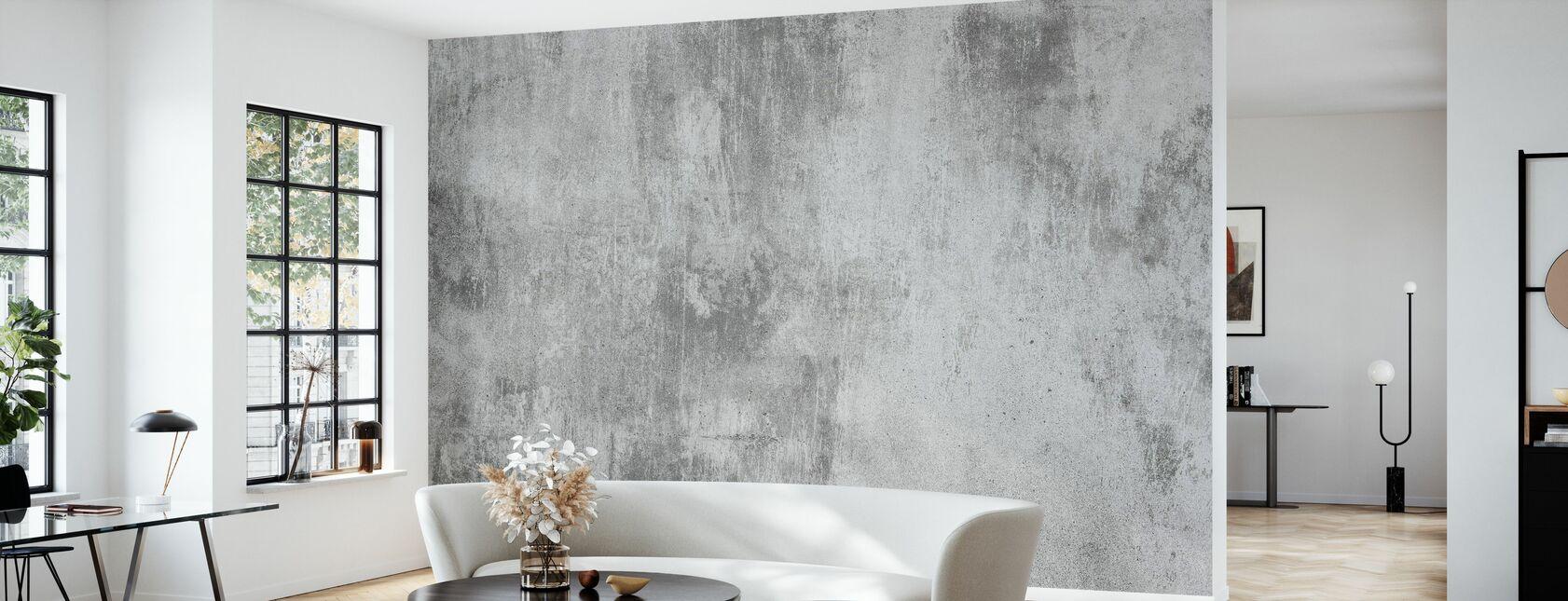 Beton væg - Tapet - Stue