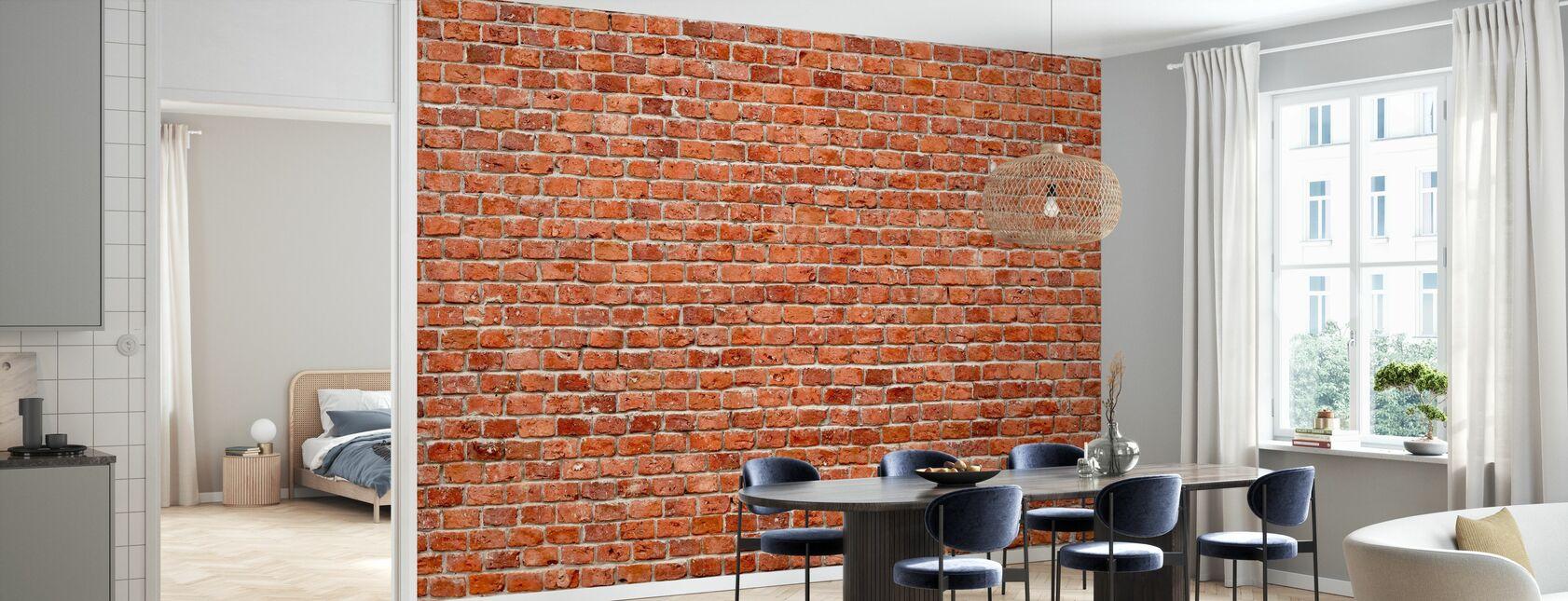 Brick Wall - Wallpaper - Kitchen