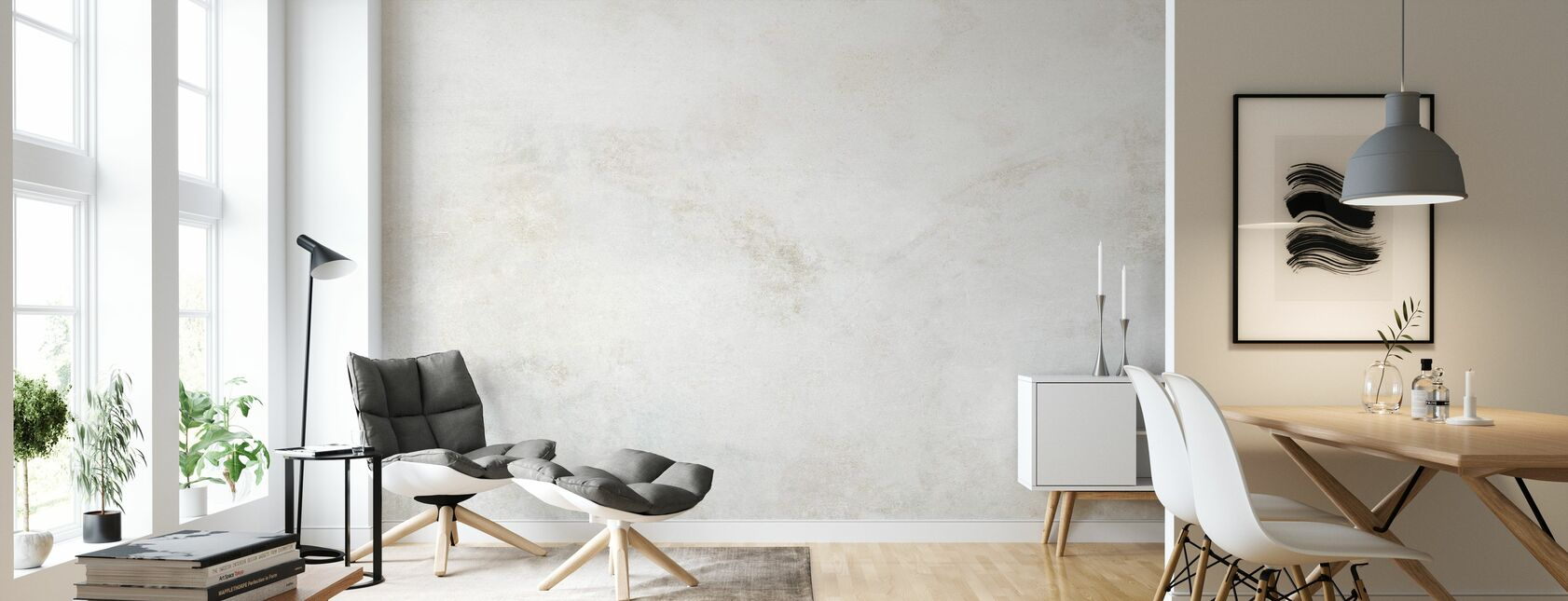 Grunge Wall - Wallpaper - Living Room