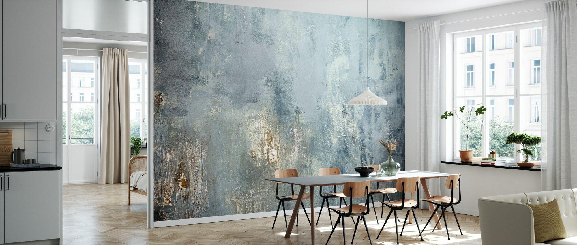 Grunge veggen malt - Tapet - Kjøkken