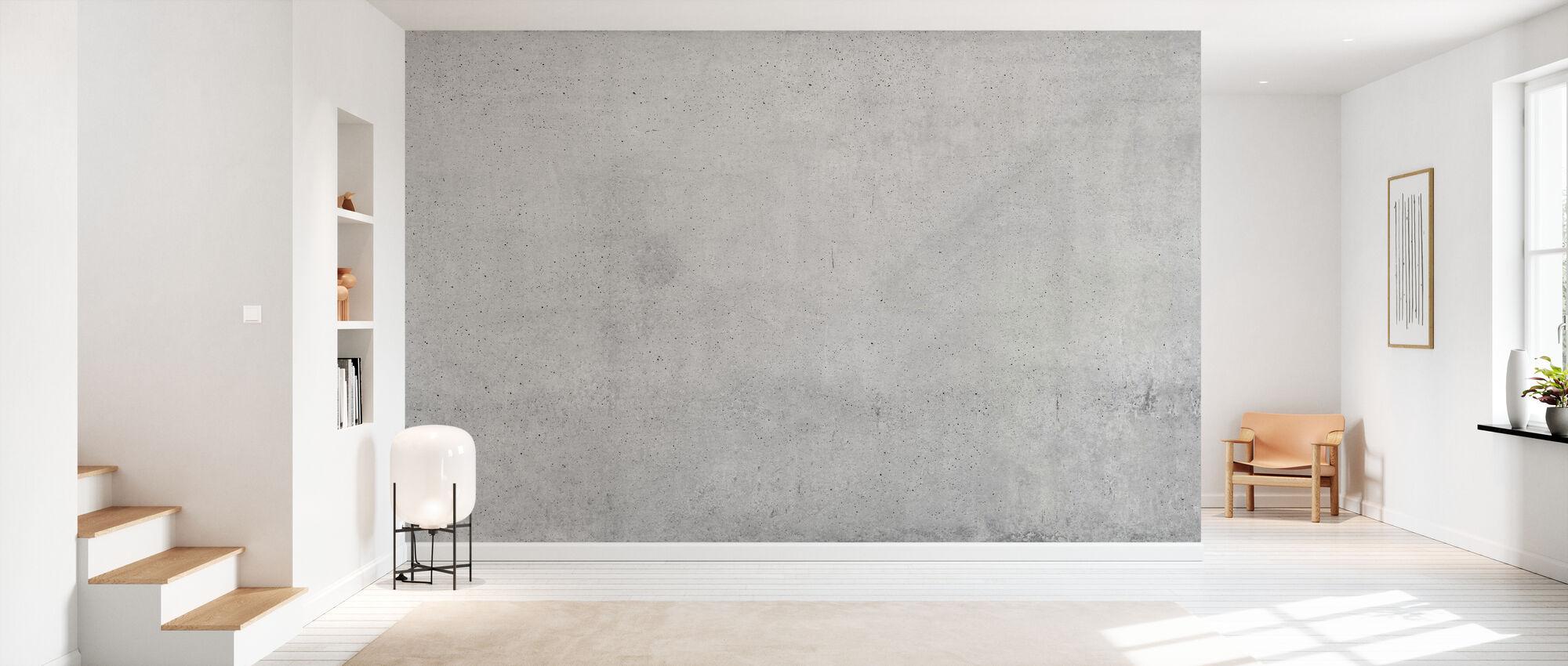 Udsat betonvæg - Tapet - Entré