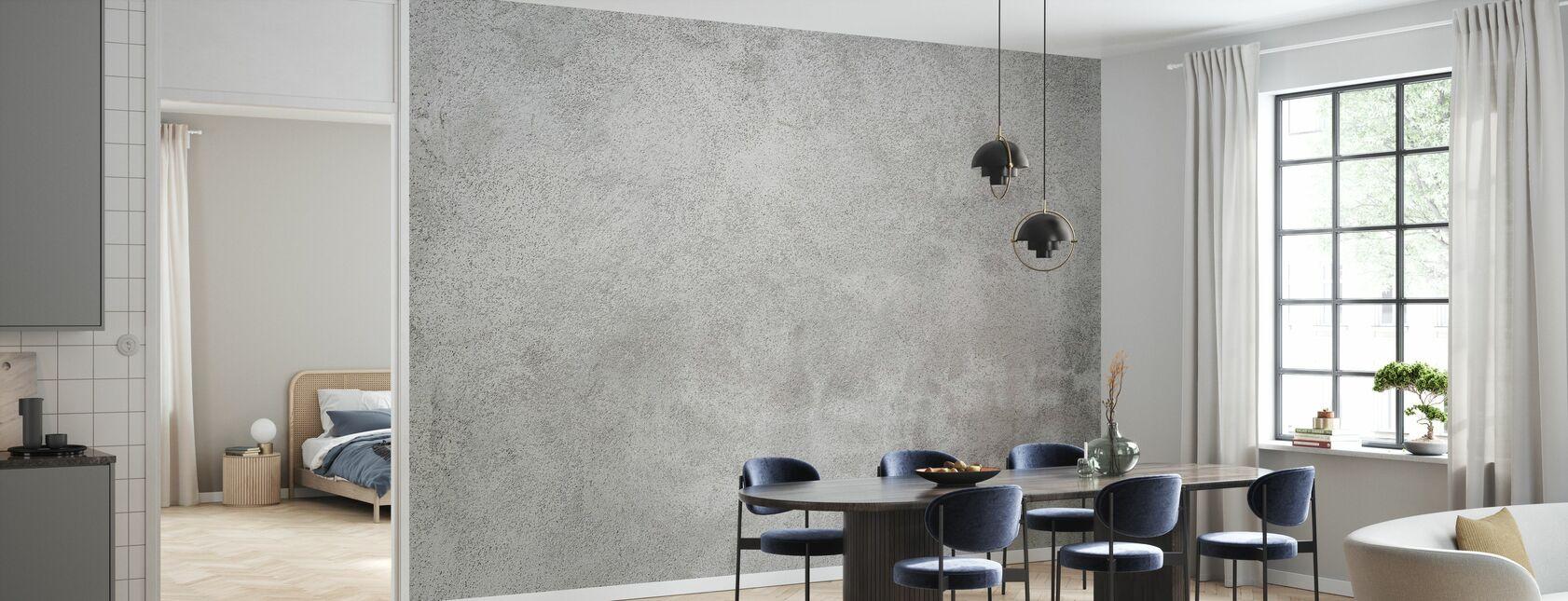 Grunge betonnen muur - Behang - Keuken