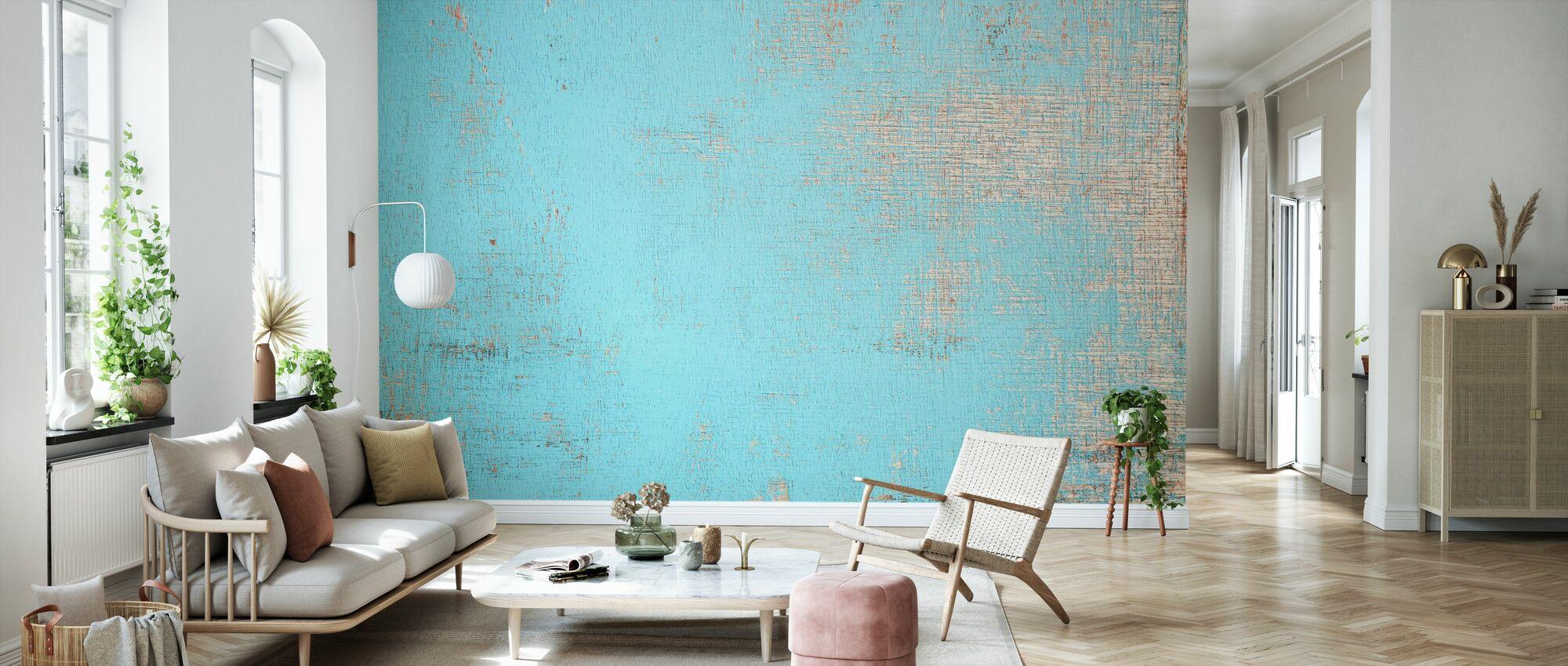 Flocked Paint Holzwand - Tapete - Wohnzimmer