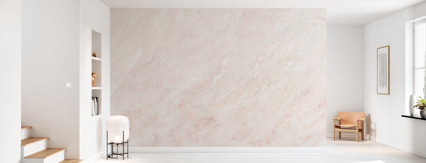 Mur en marbre - Papier peint - Entrée