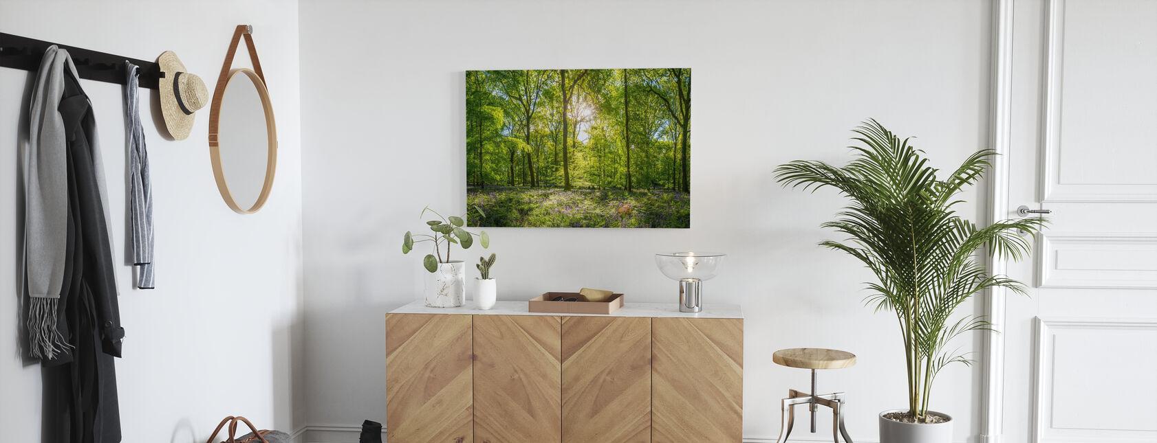 Wildflowers Forest - Canvas print - Hallway