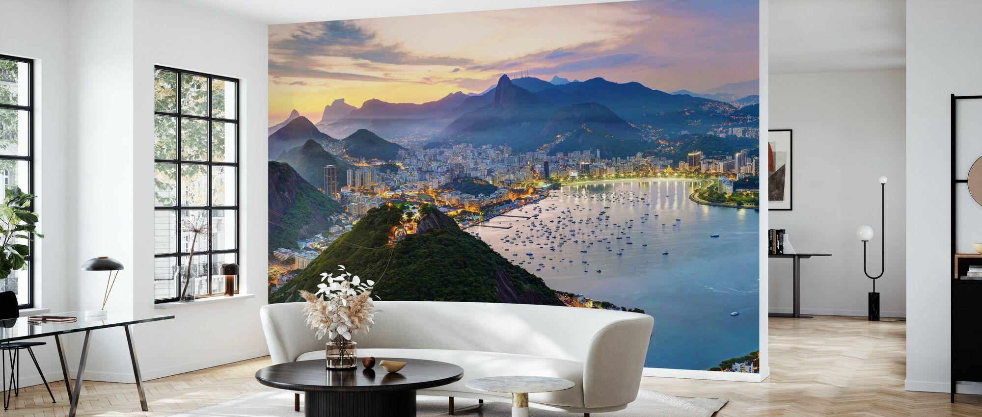 Auringonlasku Rio de Janeiro - Tapetti - Olohuone
