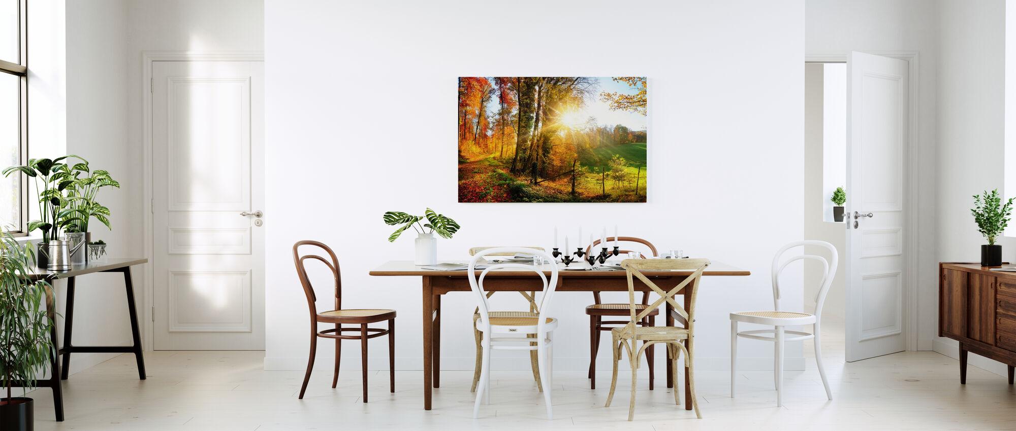 Underbart landskap - Canvastavla - Kök