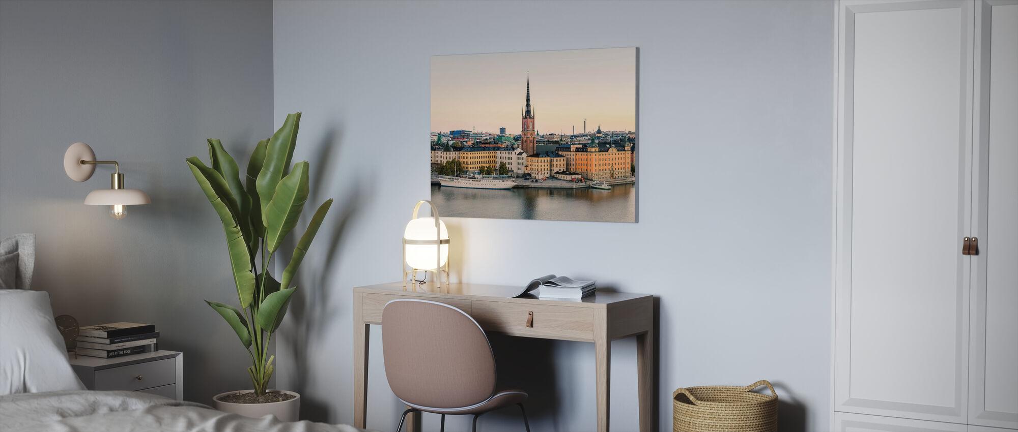 Stockholm Soluppgång - Canvastavla - Kontor