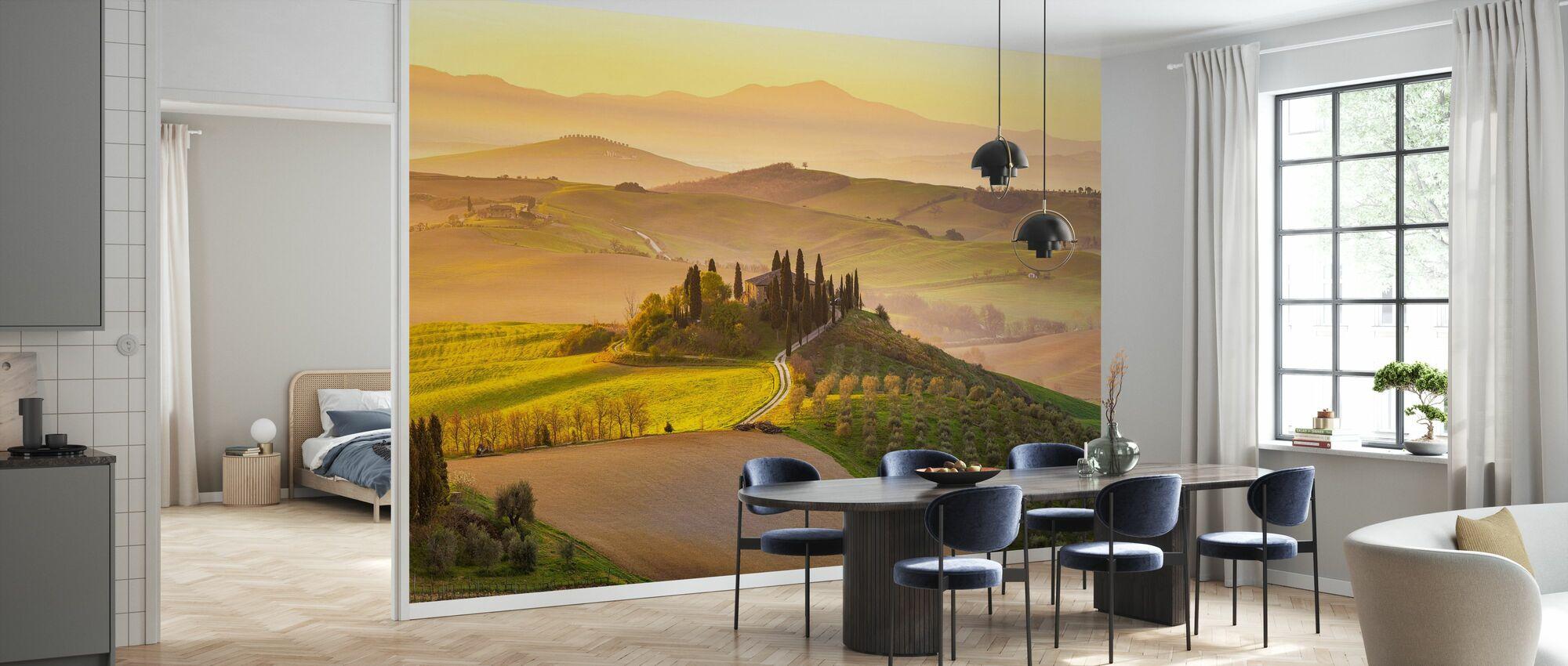 Tuscany Vineyard - Wallpaper - Kitchen