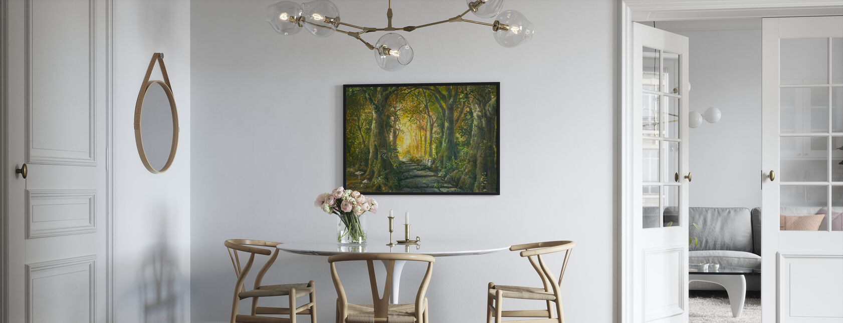 Magischer Wald - Poster - Küchen