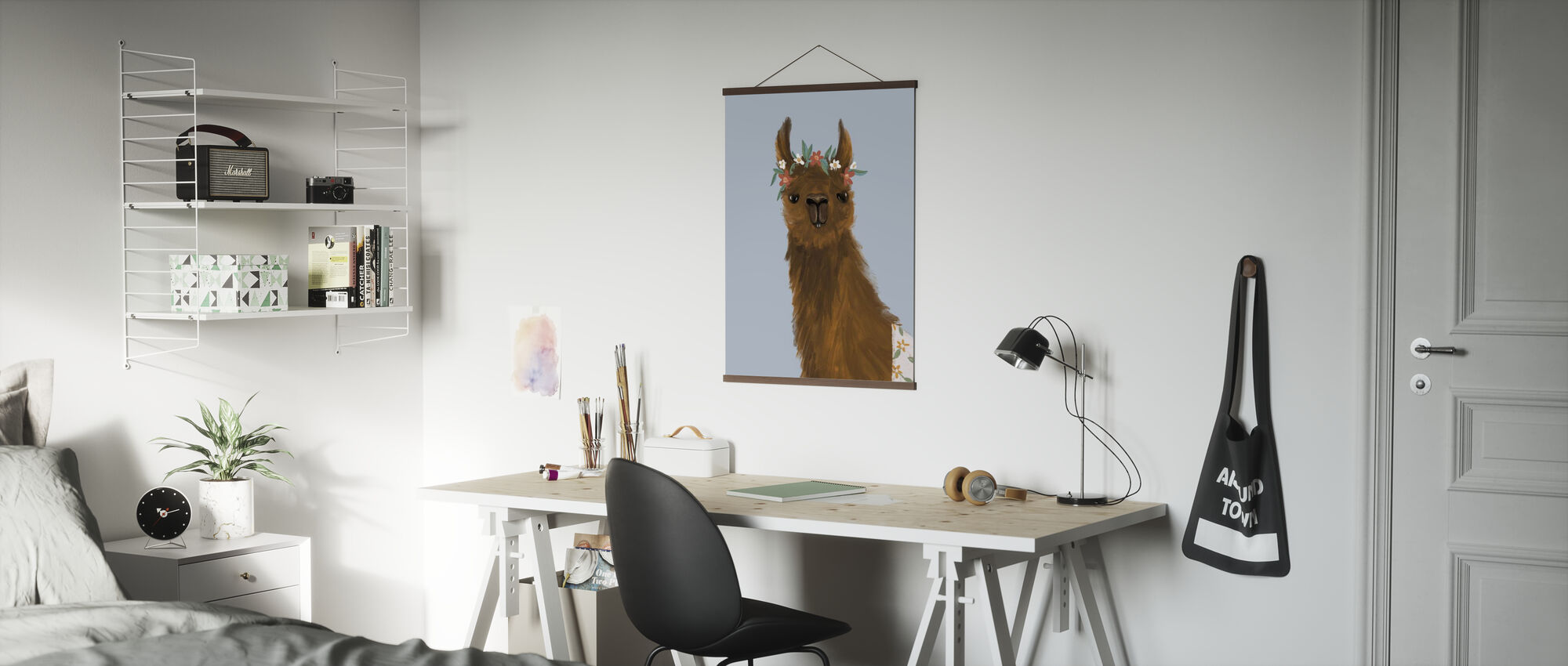 Herrliche Alpakas II - Poster - Büro