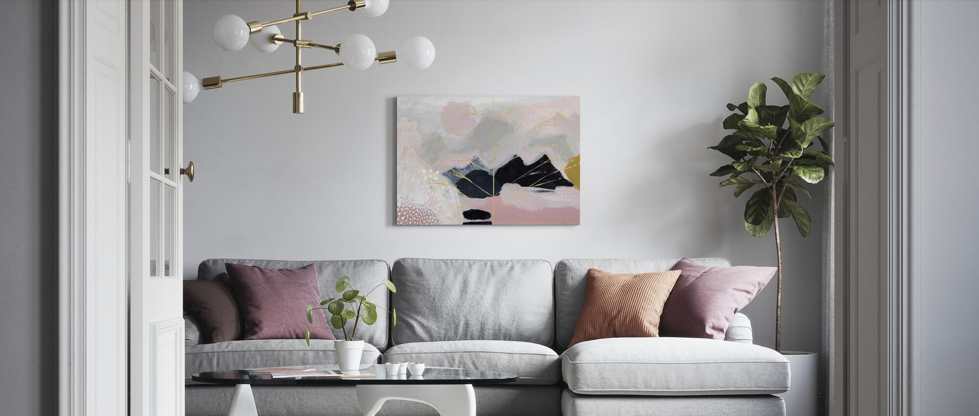 Even the Rocks Cry Out - Canvas print - Living Room