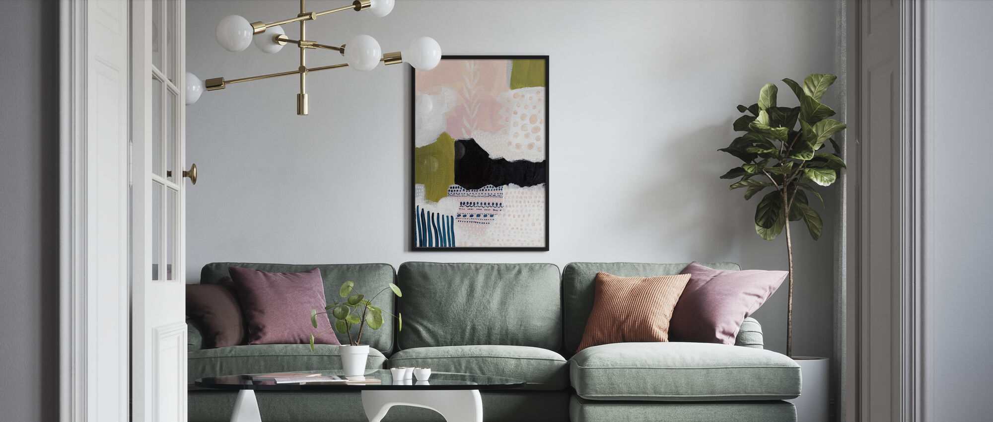Tribal Study - Poster - Living Room