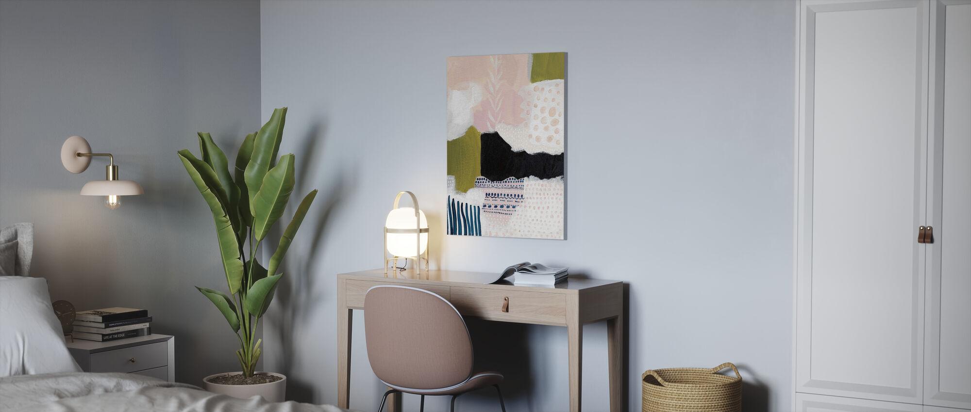 Tribal Study - Canvas print - Office