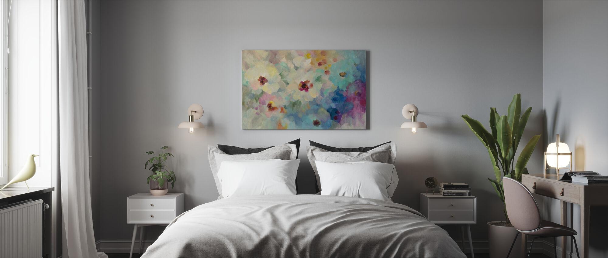 Floral Extravaganza - Canvas print - Bedroom
