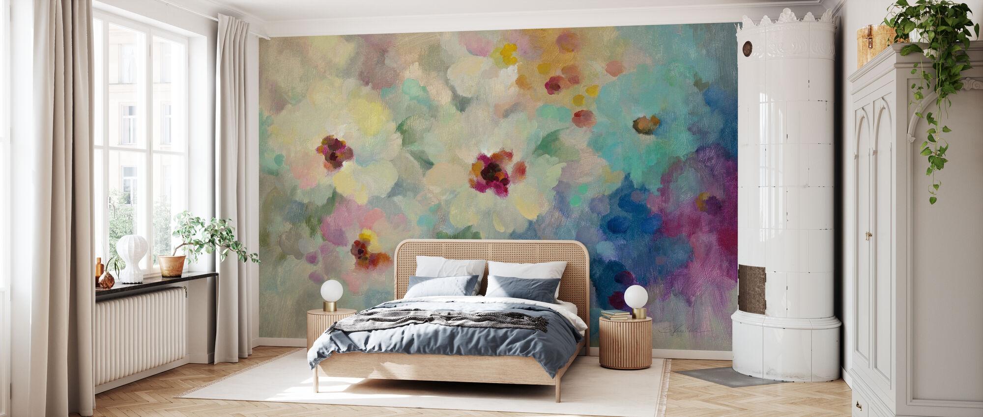 Floral Extravaganza - Wallpaper - Bedroom