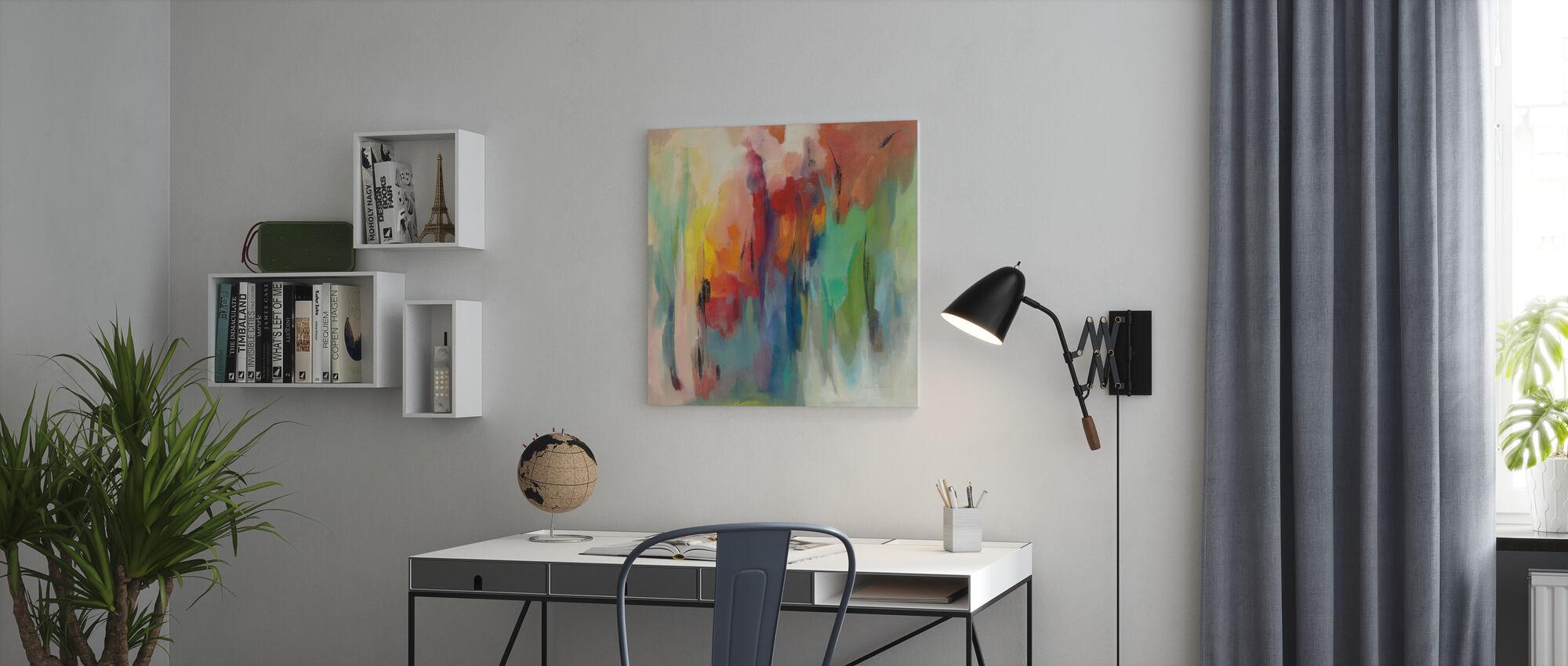 March Rainbow - Canvas print - Office