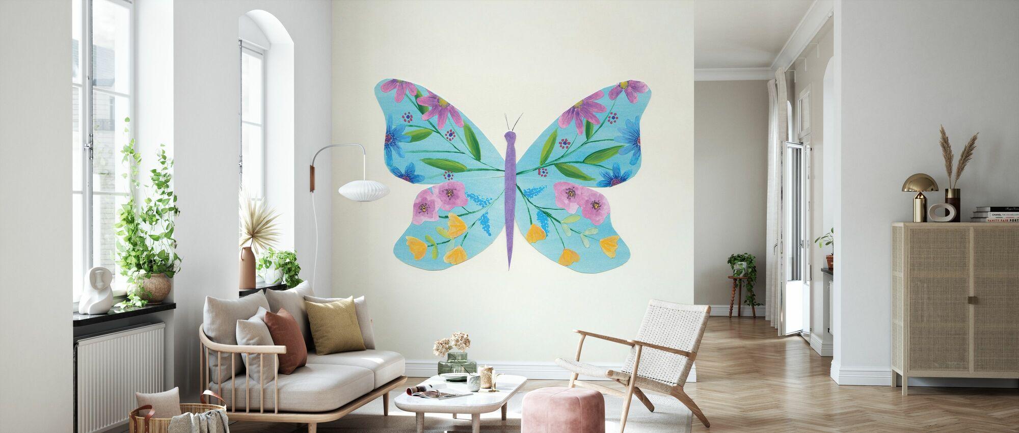 Sommerfugl Garden II - Tapet - Stue