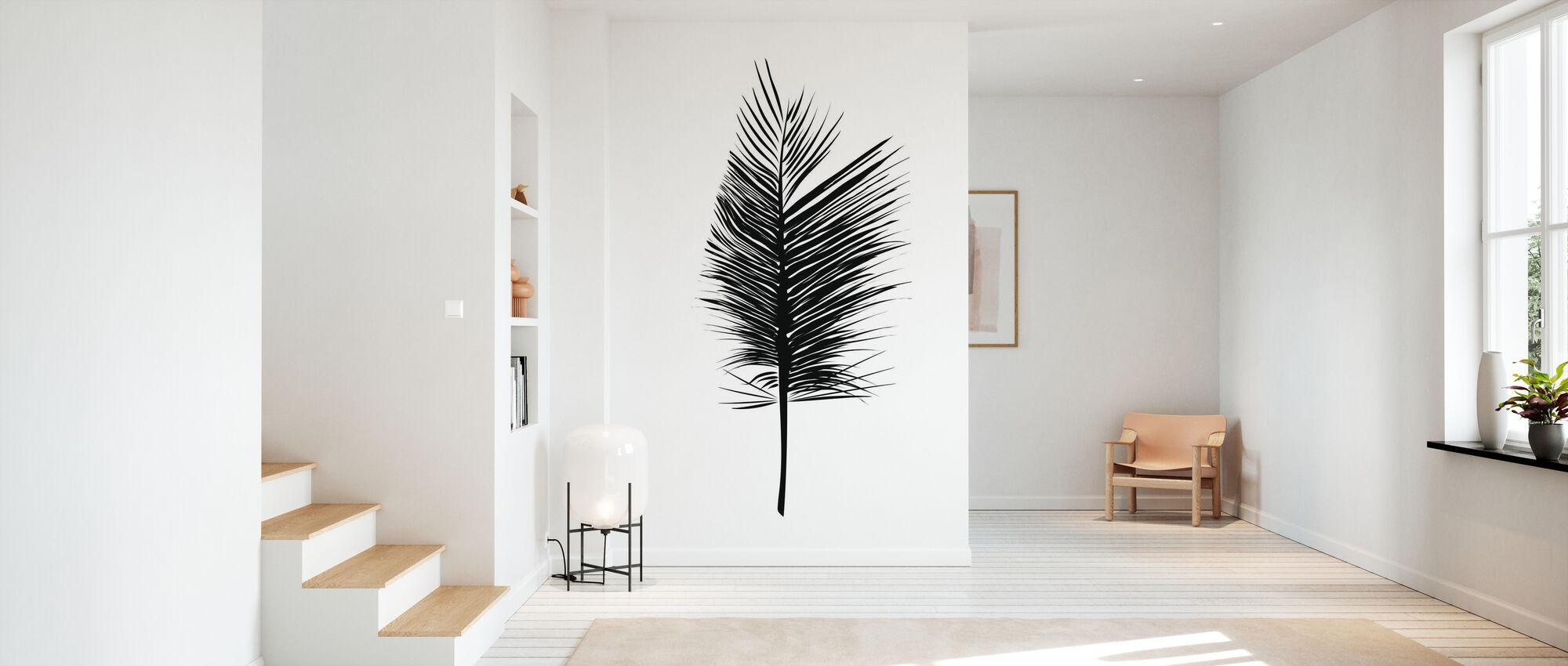 Abstract Leaf - Wallpaper - Hallway