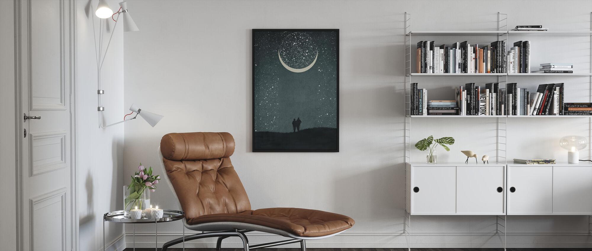Dromen met jou - Ingelijste print - Woonkamer