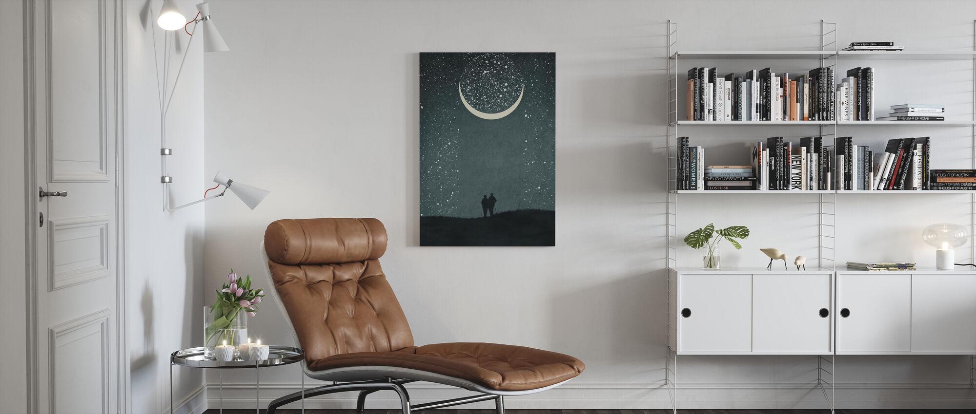 Dromen met jou - Canvas print - Woonkamer