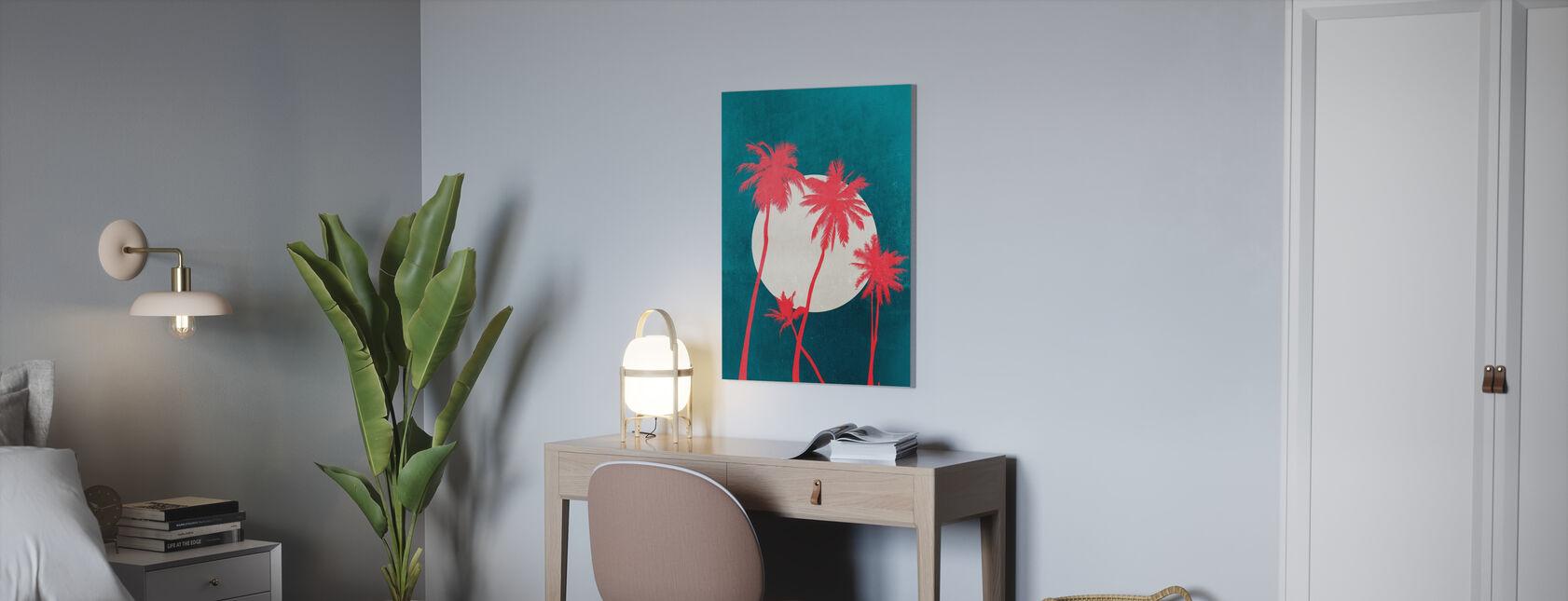 Brillante di luna di La Palma - Stampa su tela - Uffici