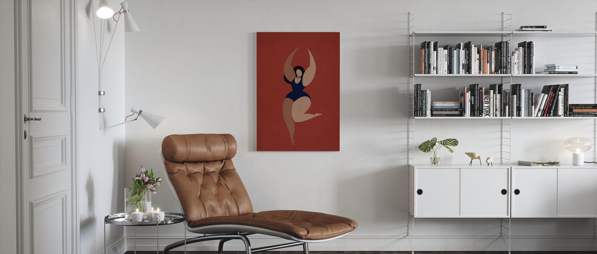 Prima Ballerina - Canvas print - Living Room