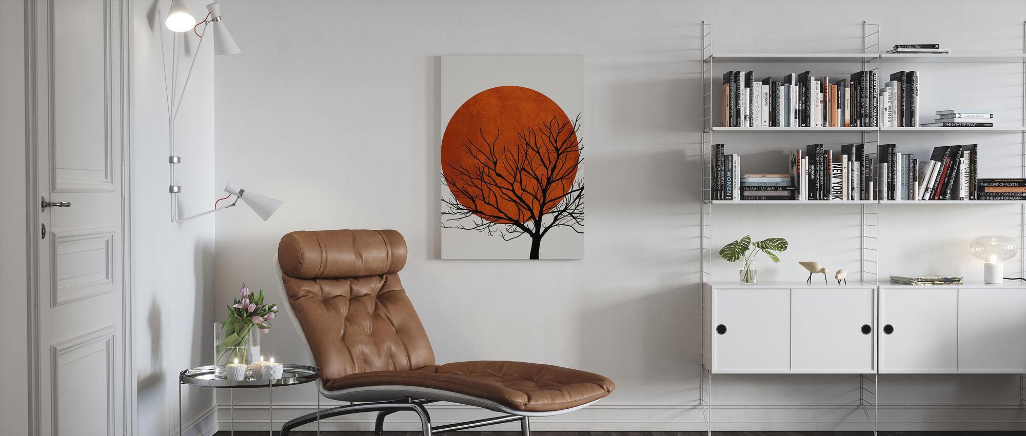 Warm Winter - Canvas print - Living Room