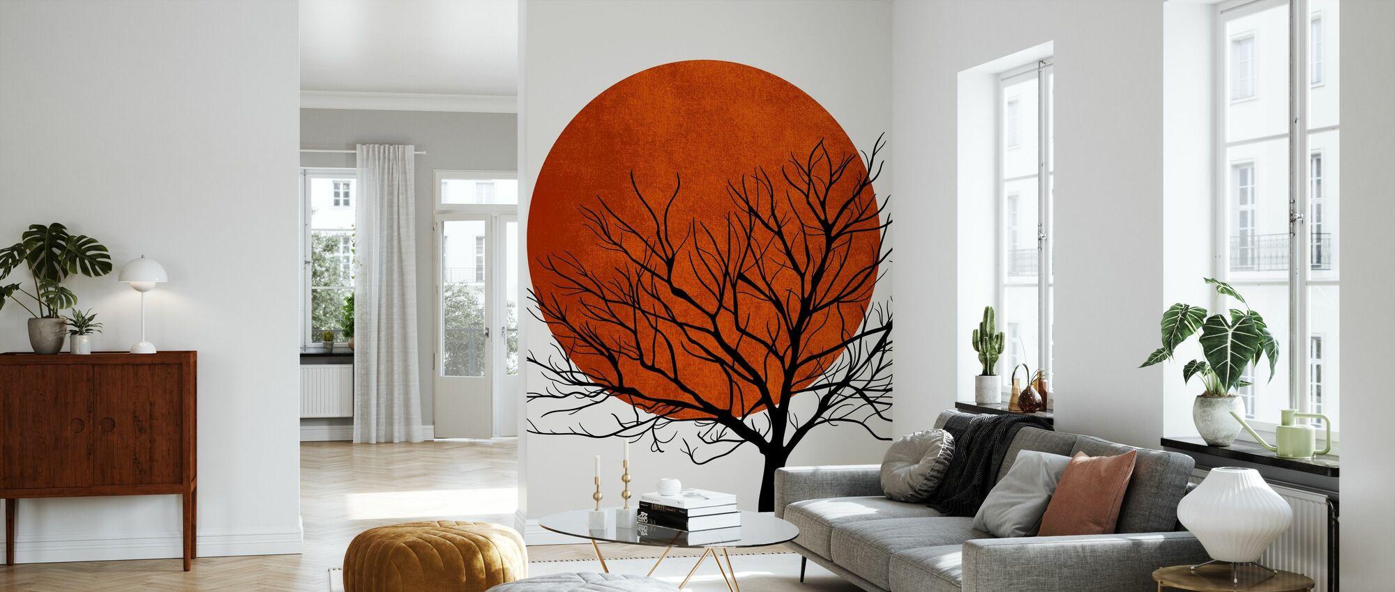 Warm Winter - Wallpaper - Living Room