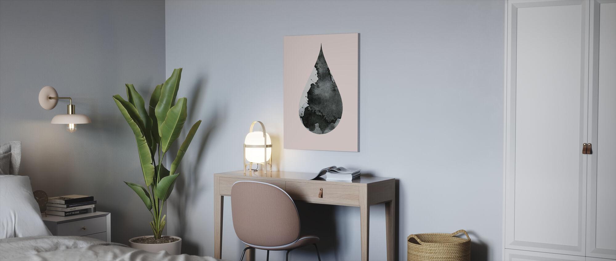 Drop No 4 - Canvas print - Office