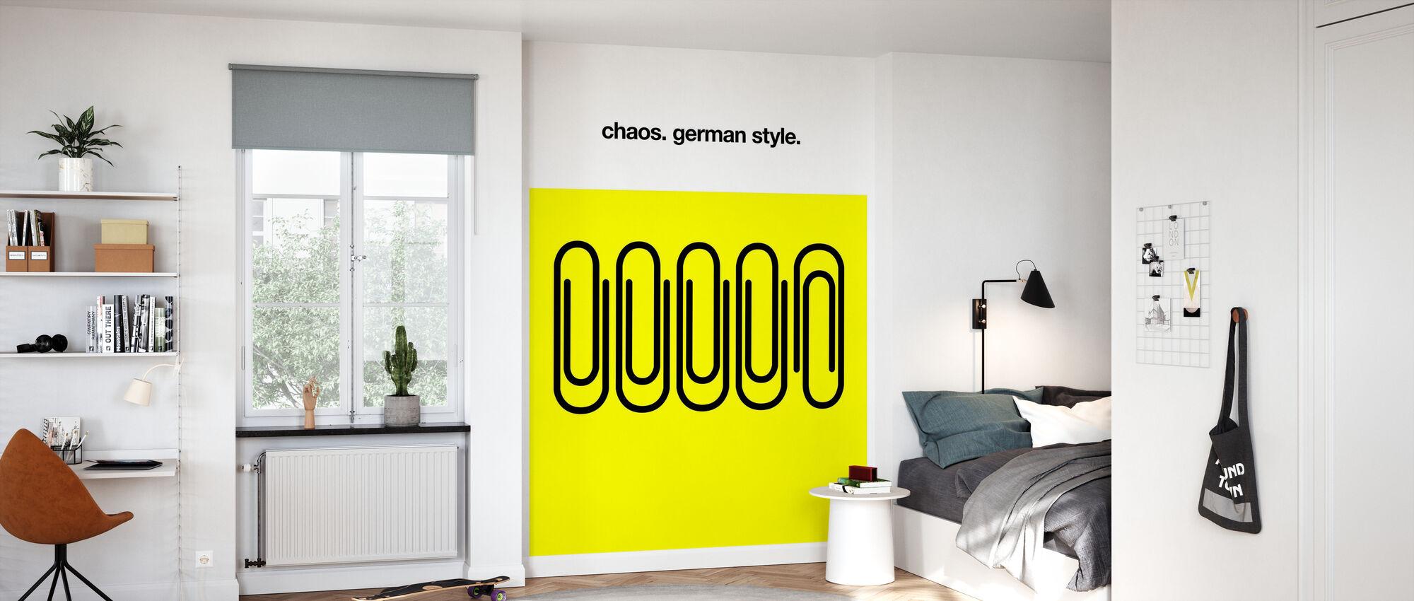 Deutsches Chaos - Tapete - Kinderzimmer