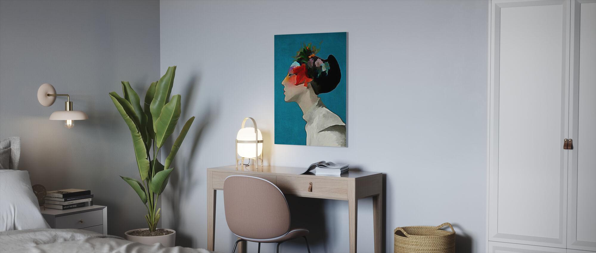 Kimono - Canvas print - Office
