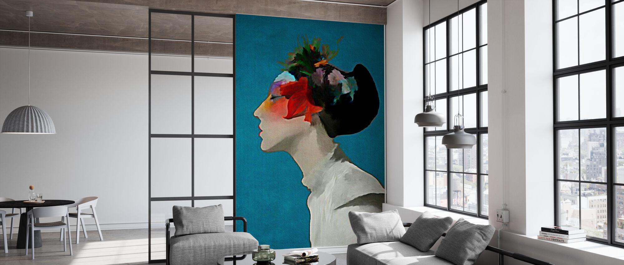 Kimono - Wallpaper - Office