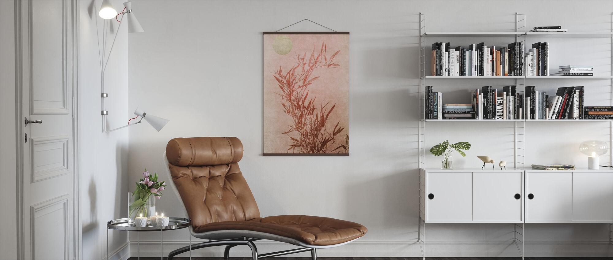 Sentimentale Berührung - Poster - Wohnzimmer