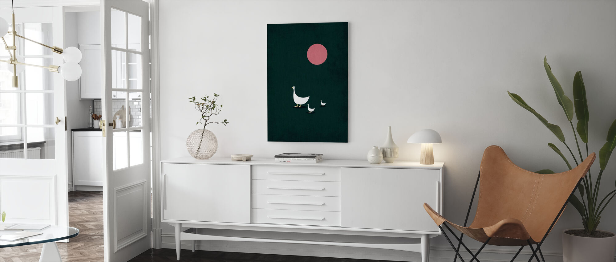 Sunny Side of Life - Canvas print - Living Room