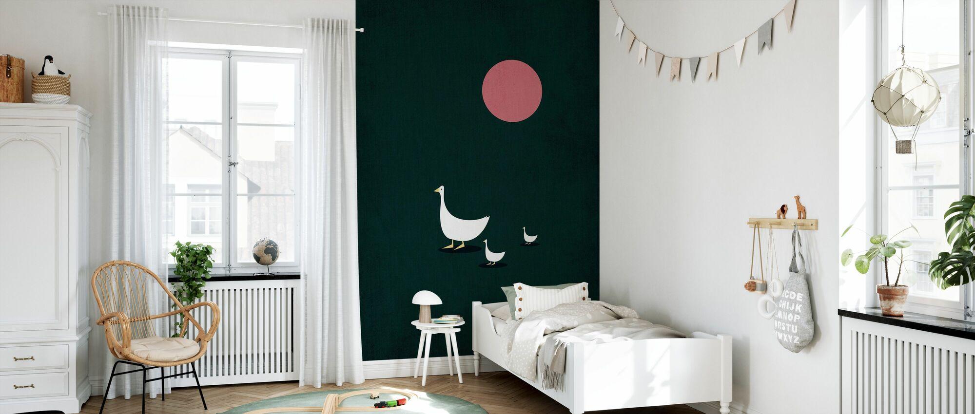 Sunny Side of Life - Wallpaper - Kids Room