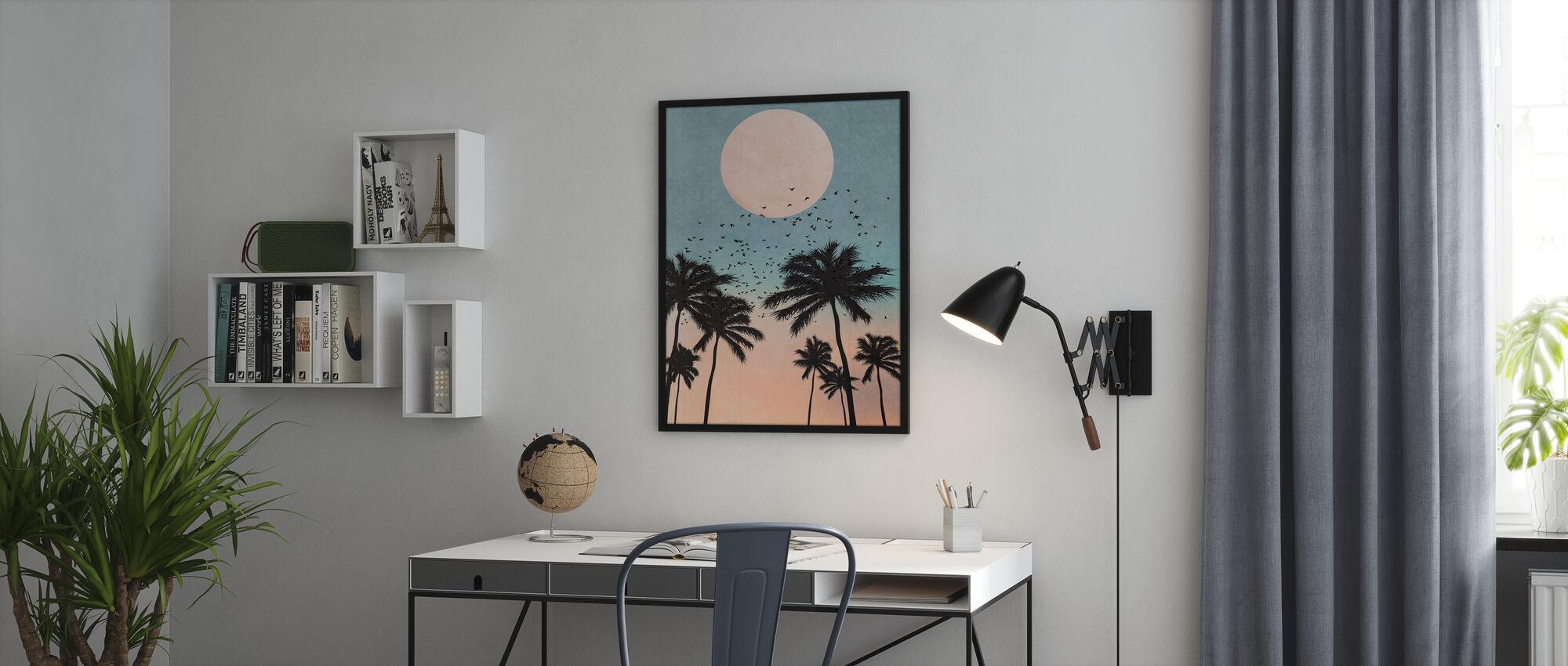 Sonnenaufgang - Poster - Büro