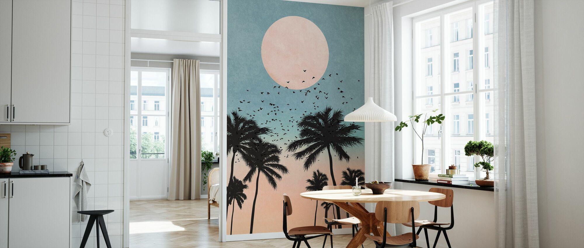 Sunrise - Wallpaper - Kitchen