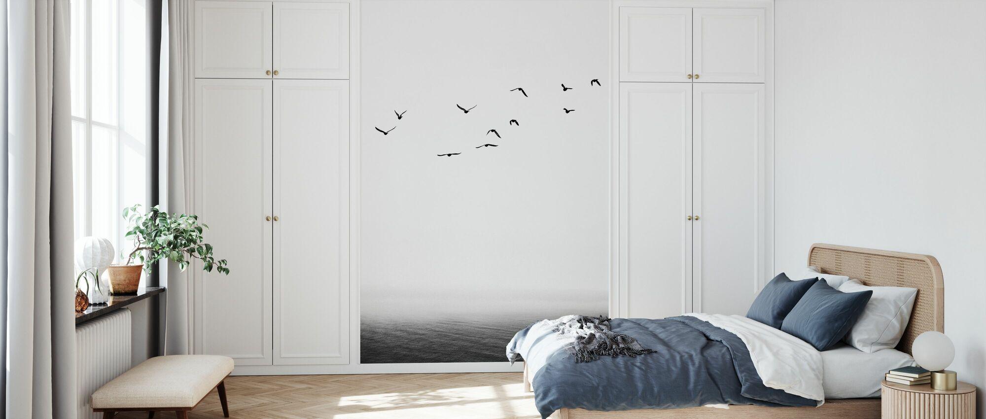 Seaside - Wallpaper - Bedroom