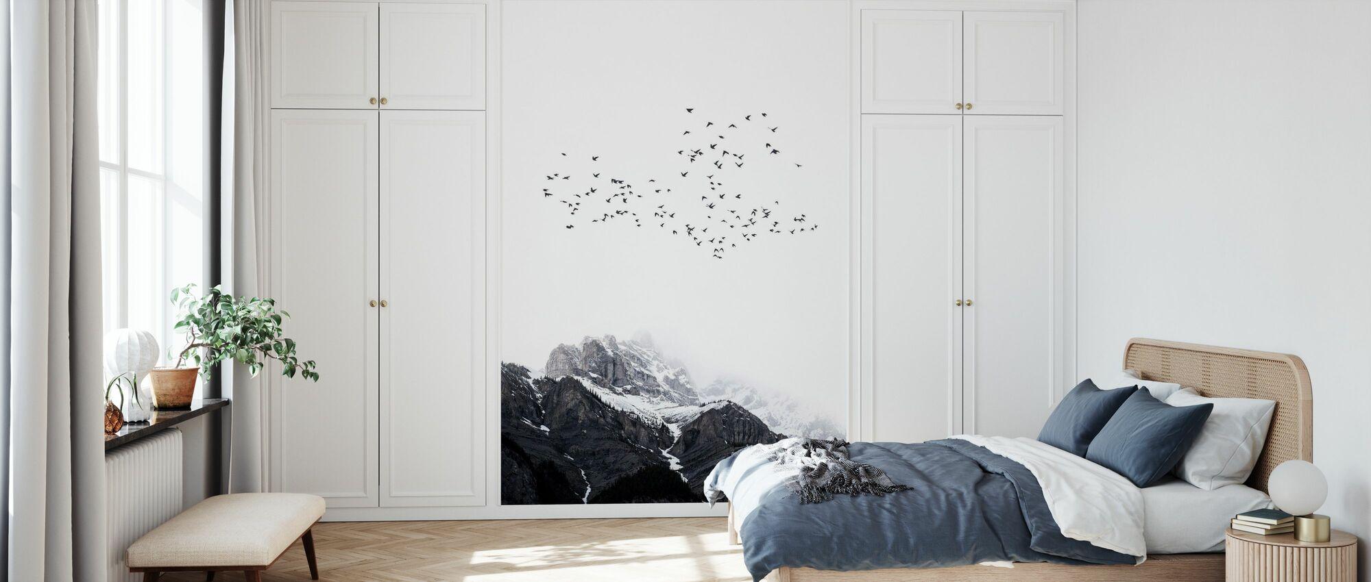 Maailman huippu - Tapetti - Makuuhuone