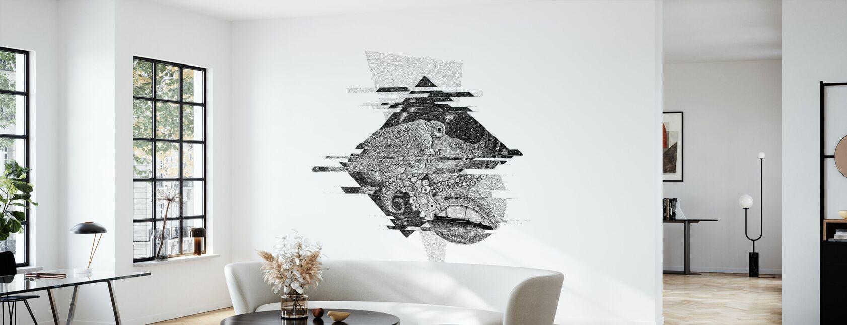 Interrupted Universe I - Wallpaper - Living Room
