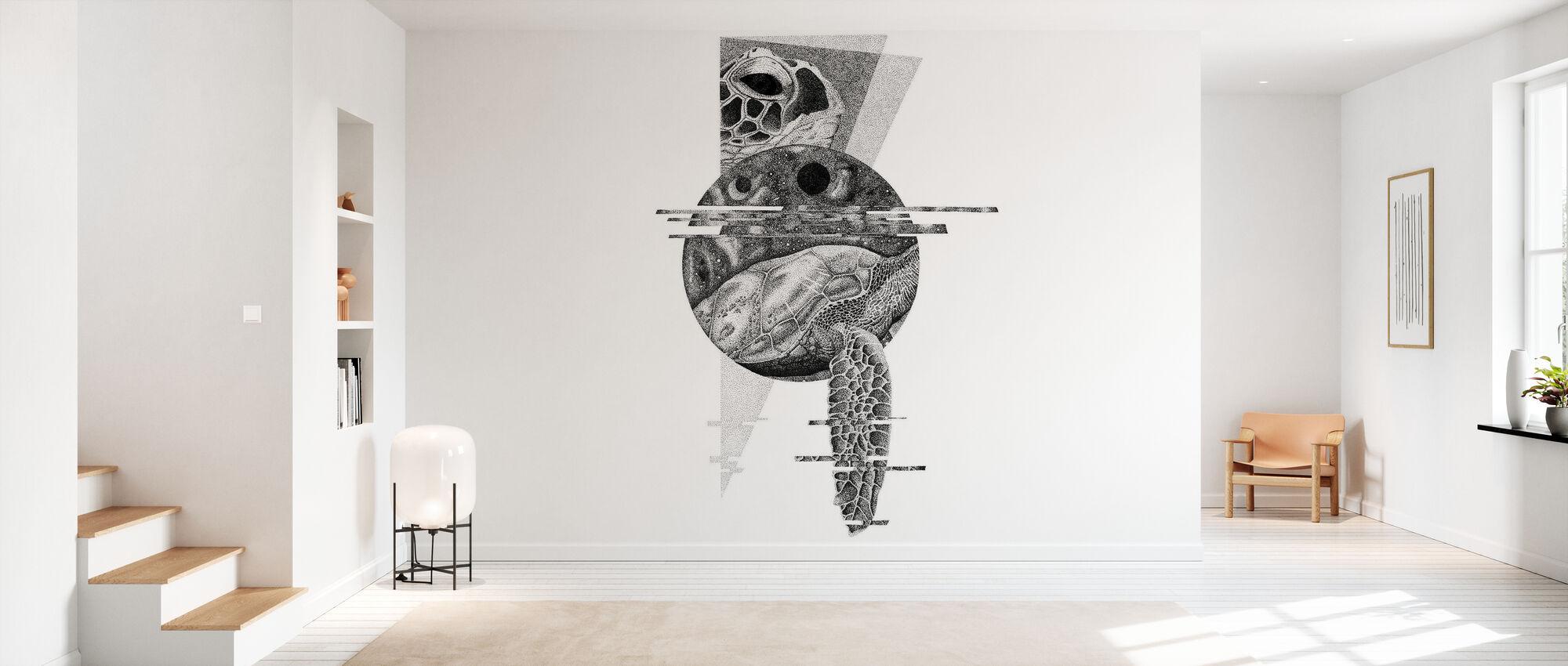 Interrupted Universe II - Wallpaper - Hallway